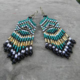 купить украшения из бисера в этническом стиле цена фото интернет магазин серег ручной работы