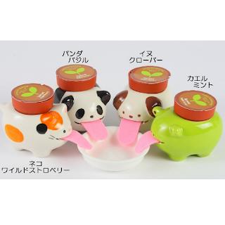 Peropon pots de fleur en forme d'animaux avec langue