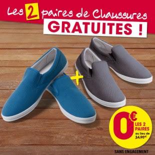سارع أحصل على نوعين من الأحذية الرجالية مجانا (باستثناء ثمن الشحن فقط 6,90€ )