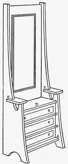 A Dresser - handmade doll furniture