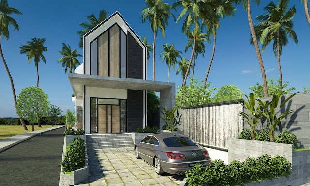 Thiết kế nhà vườn hiện đại 2019 7