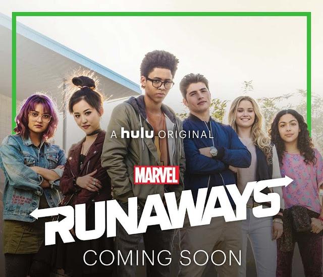 runaways marvel hulu superheroes comic series hbo