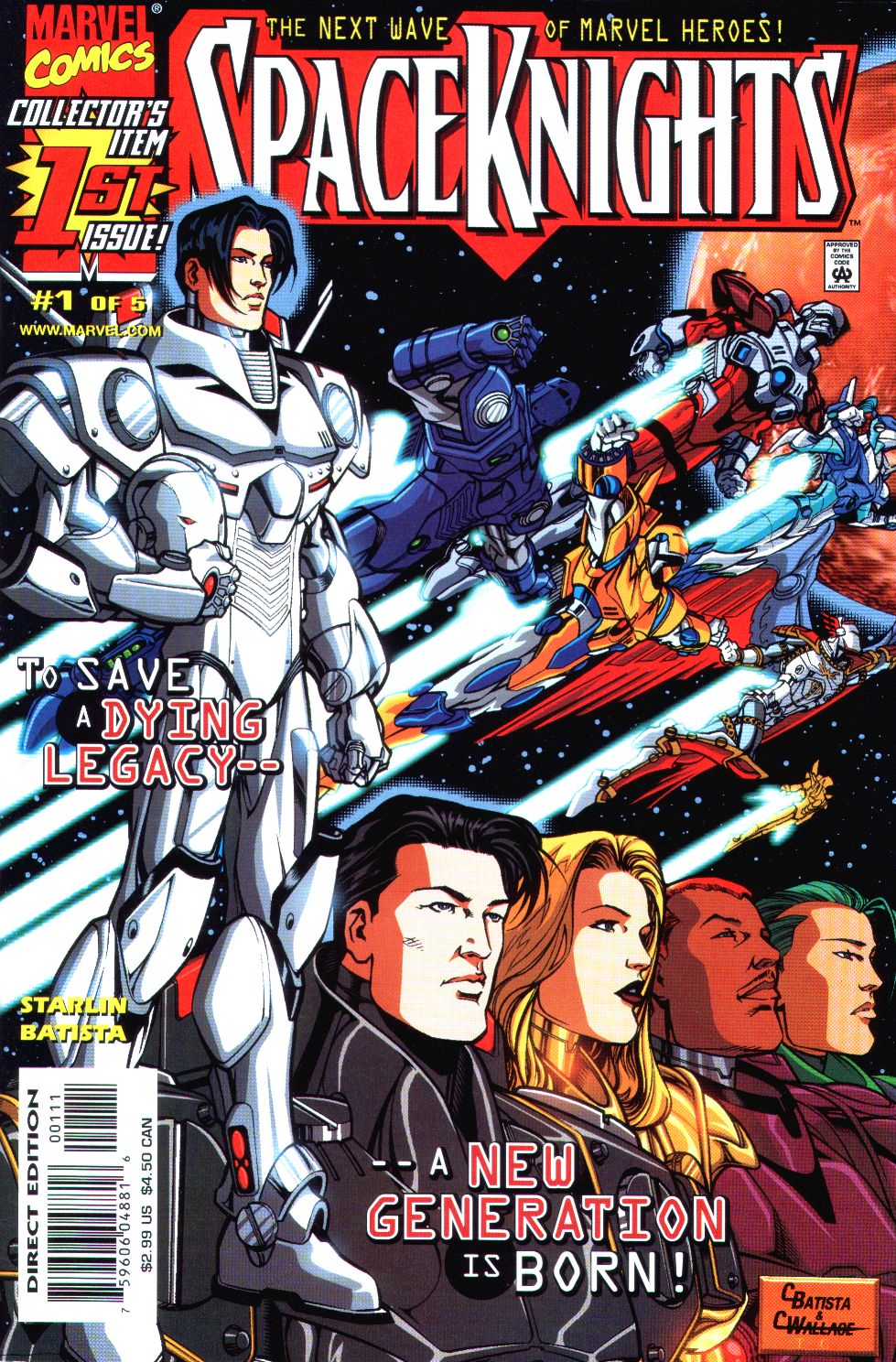 Read online Spaceknights (2000) comic -  Issue #1 - 1