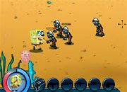 juego plants vs zombies spongebob