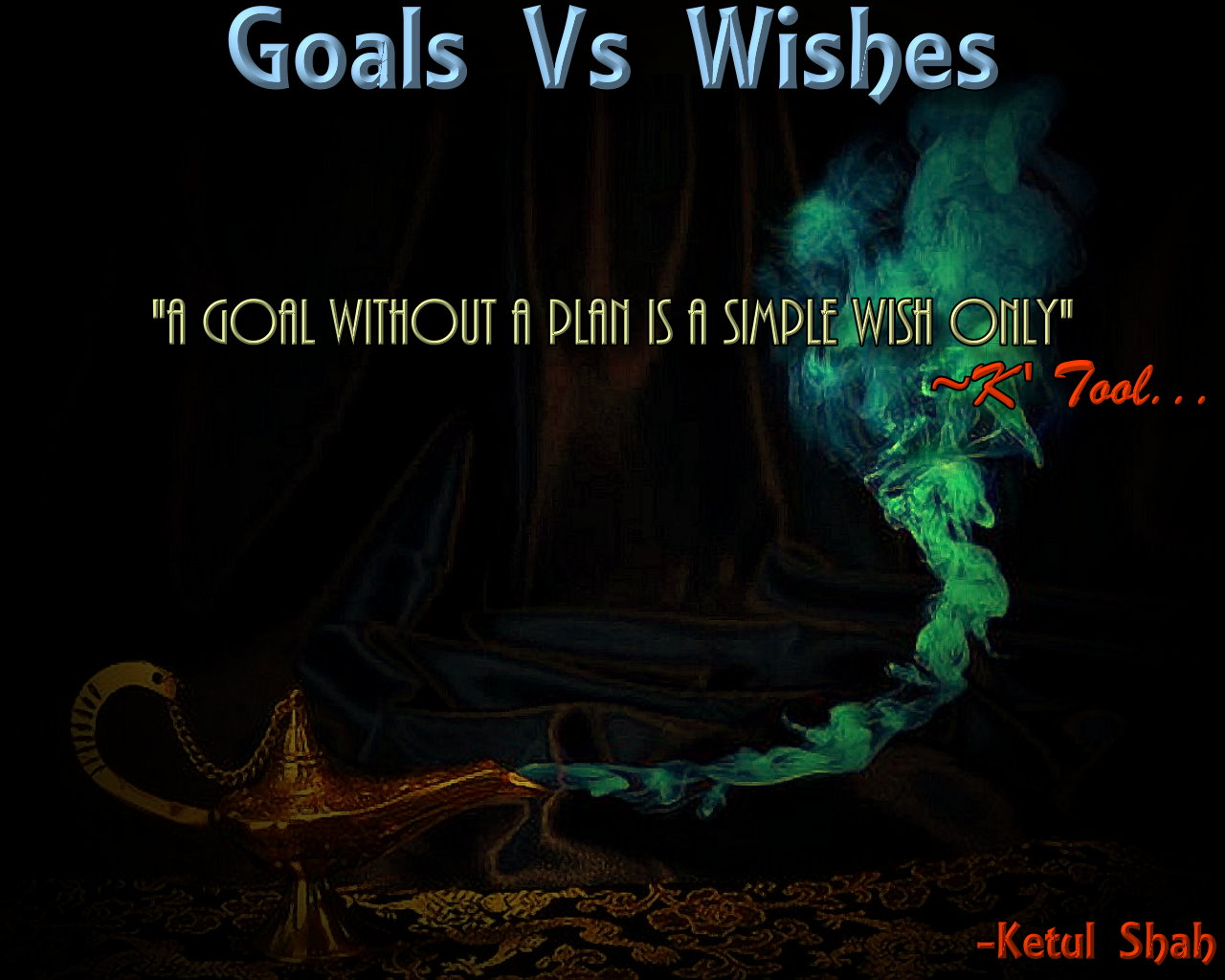 Goals Vs Wish