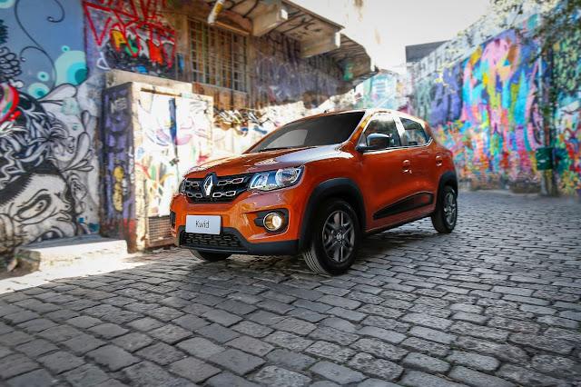 Renault Kwid é convocado para recall pela 3ª vez