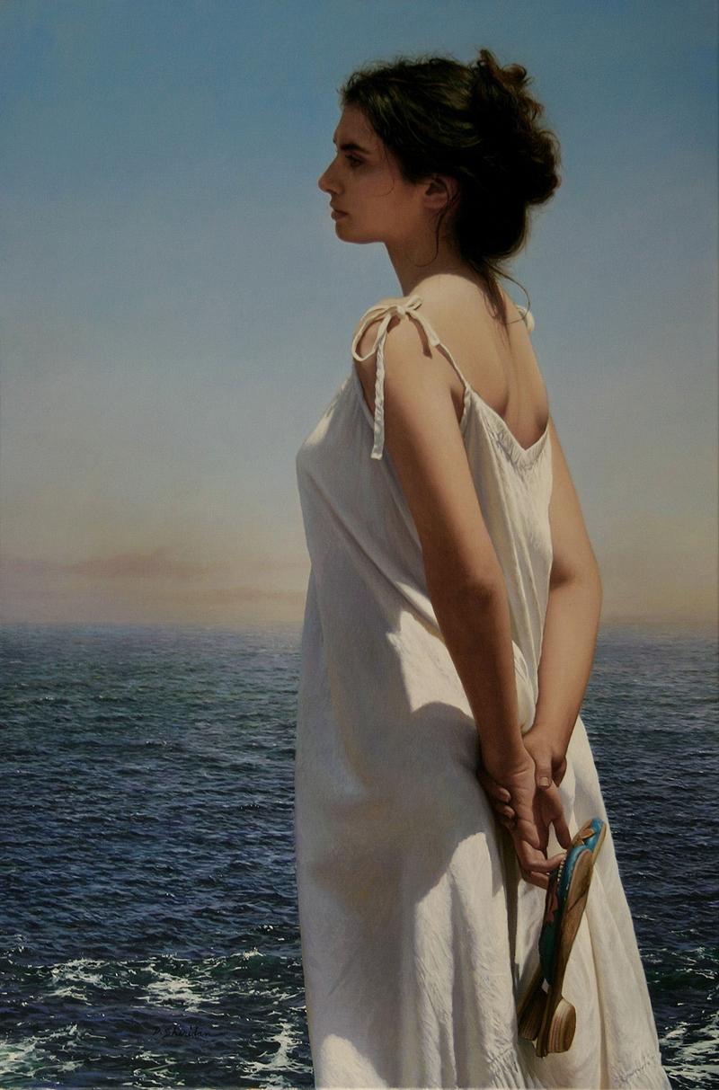 "American Figurative Painter- ""Duffy Sheridan 1947"""
