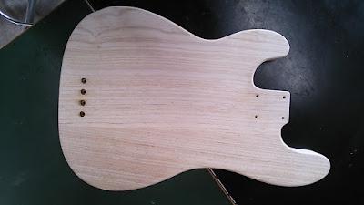 Fender Original Precision Bass 改造