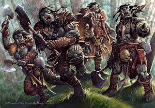 Racing Orcs to Phandalin