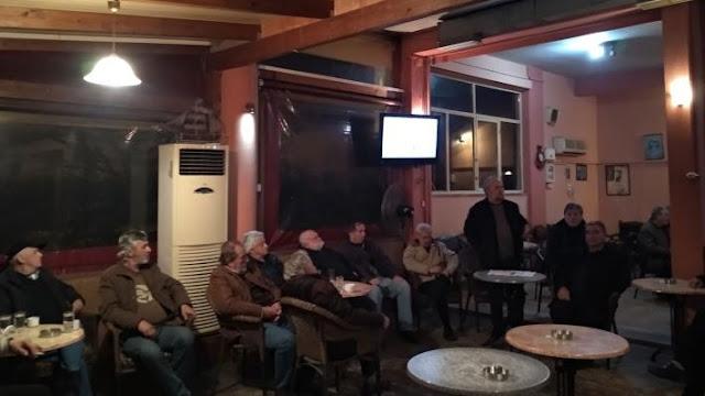 Άρτα: Στην Ανέζα Άρτας Κλιμάκιο Της Οργάνωσης του ΚΚΕ Με Επικεφαλής Τον Νίκο Μωραΐτη