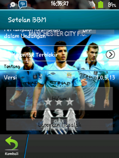 BBM Manchester City for Gb