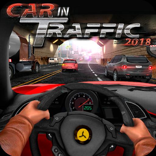 تحميل لعبة Car In Traffic 2018 v1.1.3 مهكرة وكاملة للاندرويد أموال لا تنتهي