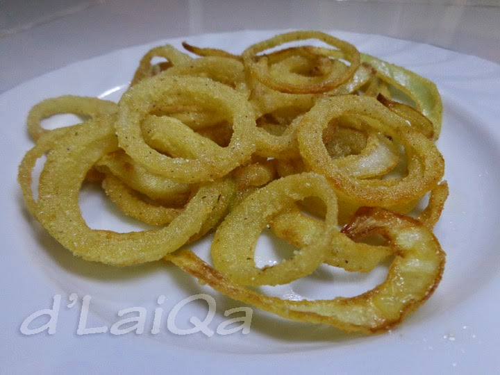 Onion Ring (Egg Free) ala Rika