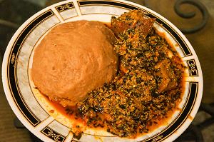 Sierra Leone Smoked Fish Egusi Stew