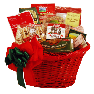 Season's Greetings Gift Basket