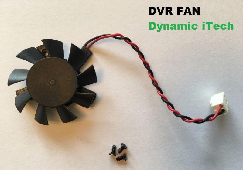 Dynamic iTech: dvr fan available