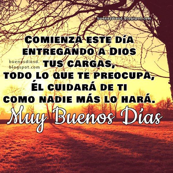 Imágenes Bonitas De Buenos Días Con Frases Cristianas