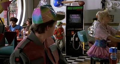 Arcade película Regreso al futuro II