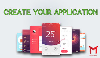 Create a professional Android application