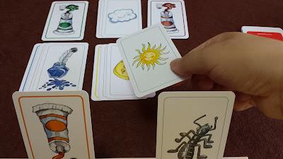 楽しい色並べ Farben Lernen 色カード揃える