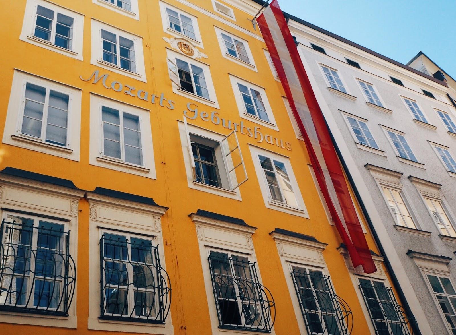 Mozarts guesthouse Salzburg
