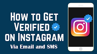 How to Verify Instagram Accounts Via Email and SMS [Work 100%]