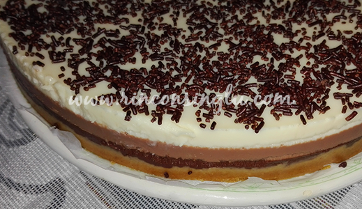 paso a paso receta tarta de tres chocolates sin gluten