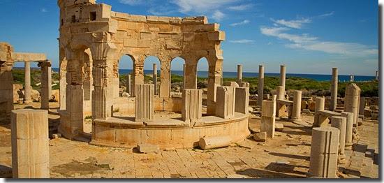 Locais perigosos para turistas - Leptis Magna - Líbia