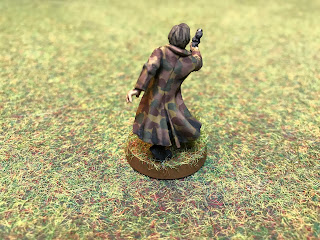 Han Solo Figure for Star Wars Legion wearing a camo smock