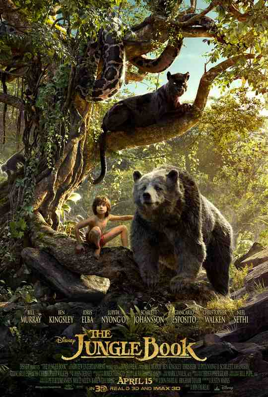 فیلم دوبله: کتاب جنگل (2016) The Jungle Book