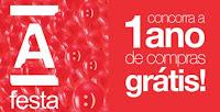 Promoção Americanas 1 Ano de Compras Grátis www.americanas.com.br/aniversario