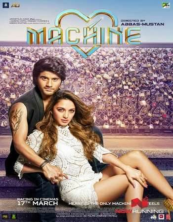 Machine 2017 Hindi 600MB HDRip 720p HEVC