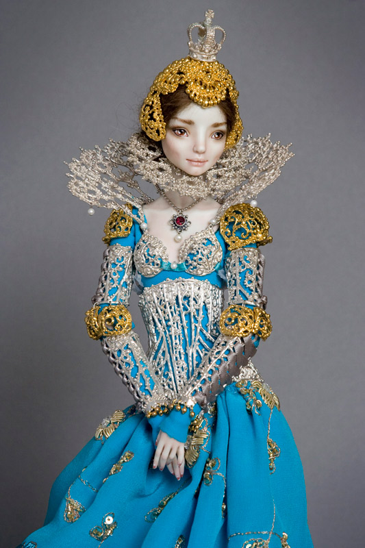 Marina Bychkova. Enchanted Doll. Princesas de Porcelana   Doctor Ojiplático