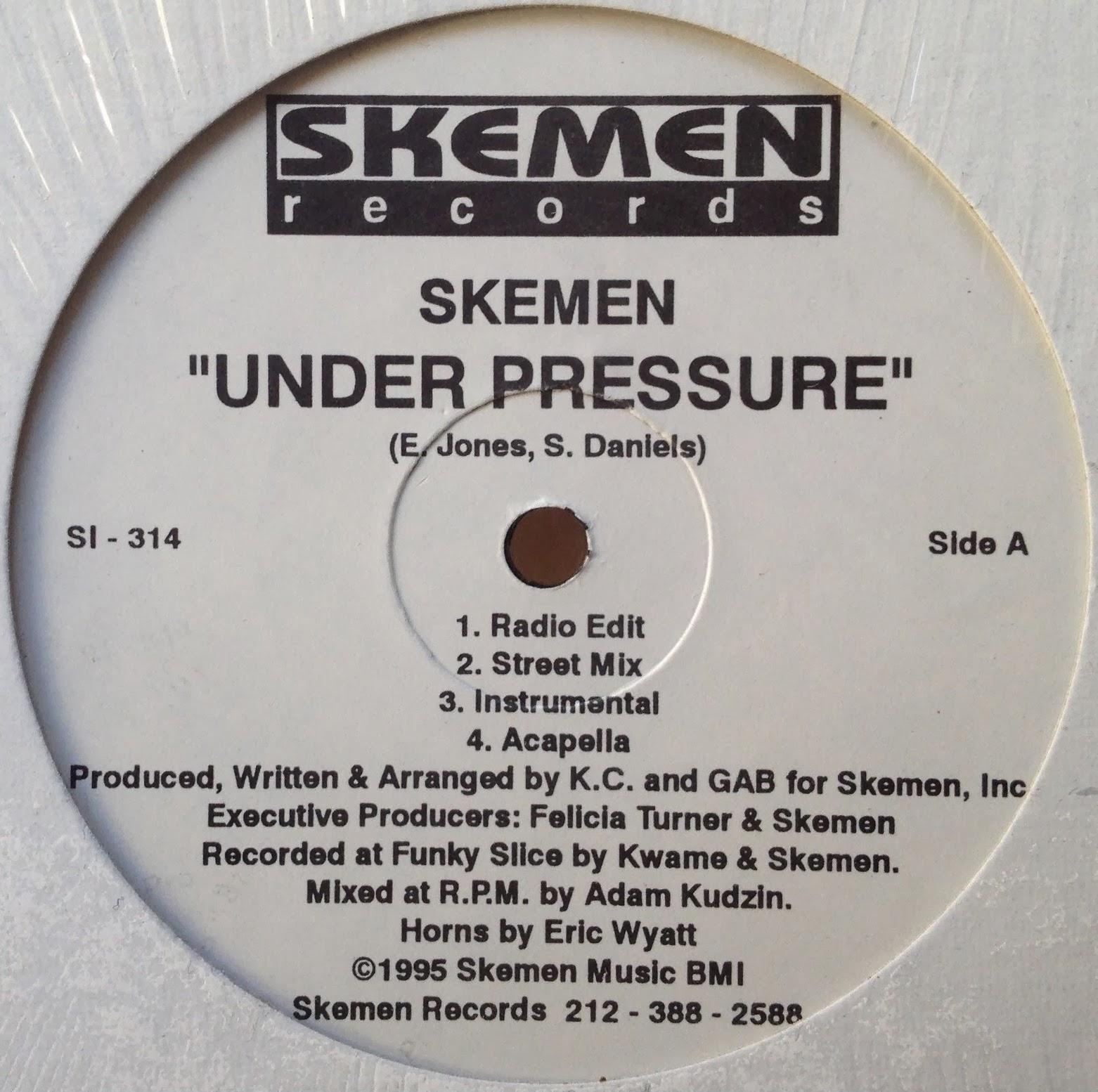 HipHop-TheGoldenEra: Skemen - Under Pressure - 1995