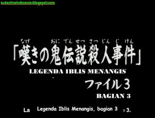 Anime Detektif Kindaichi Episode 119 subtitle indonesia