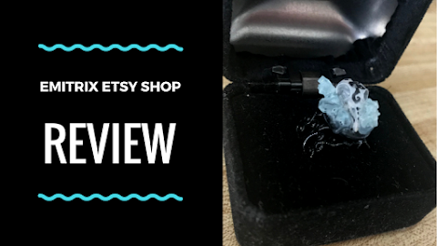 Emitrix Etsy Shop Resin Bird Skull Ring Review #2! Reviewing the Air and Sky Collection!