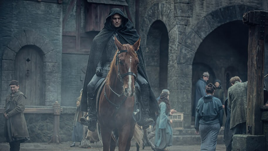 Geralt, Horse, The Witcher, Series, 8K, #7.729