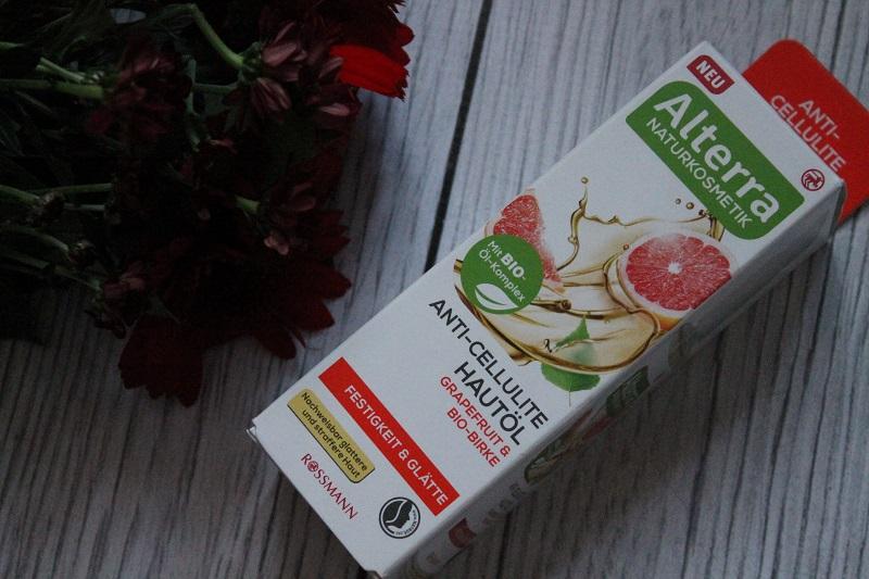 alterra antycellulitowy olejek grejpfrut i brzoza