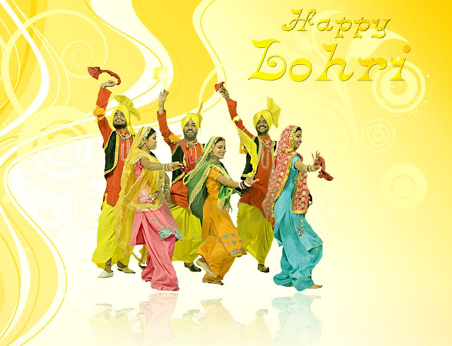 Happy Lohri Wallpapers for Mobile
