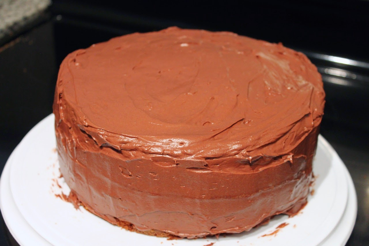 1 2 3 4 Yellow Cake With Chocolate Frosting
