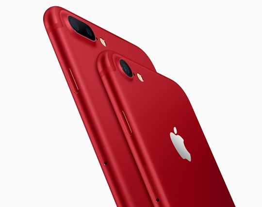 Apple Adds Red Shade to iPhone 7 and 7 Plus Lineup