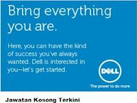 Jawatan Kosong Dell Global Business Center Sdn Bhd 15 Jun 2017