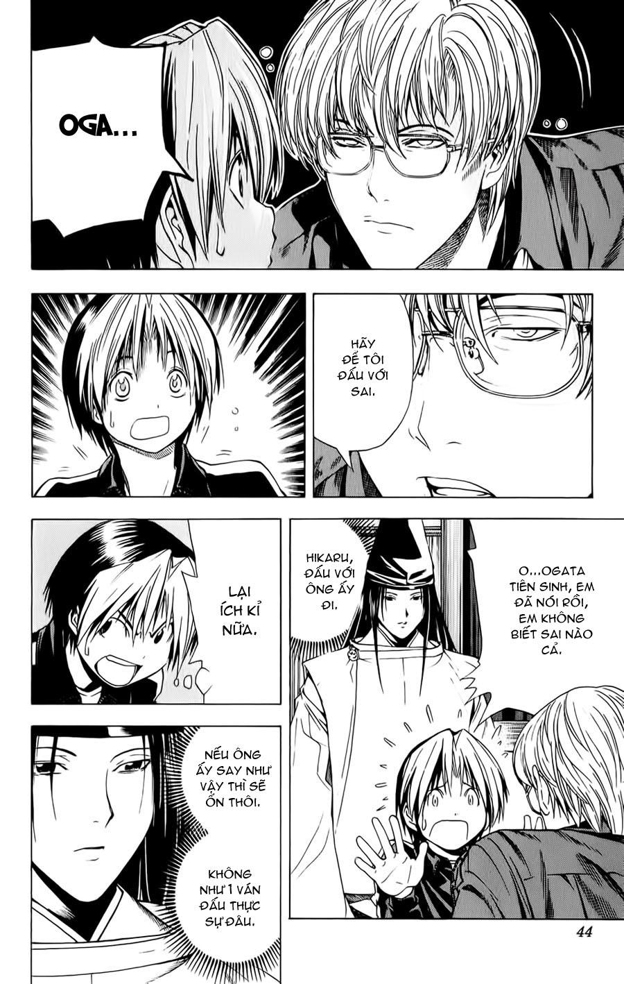 Hikaru No Go hikaru no go chap 123 trang 17