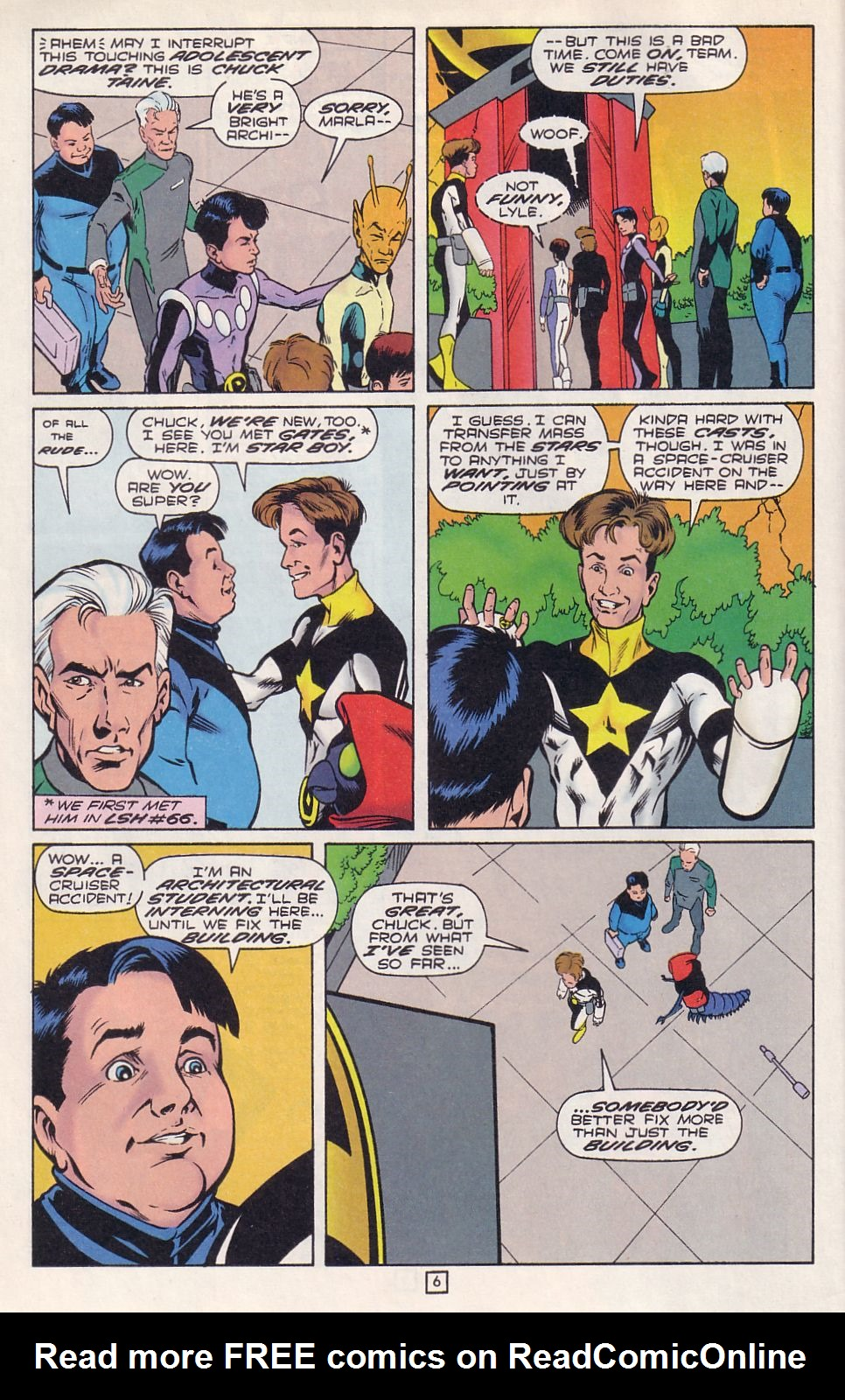 Legion of Super-Heroes (1989) 76 Page 6