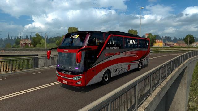 Mod Ets2 bus Jetbus 3 SHD subur jaya