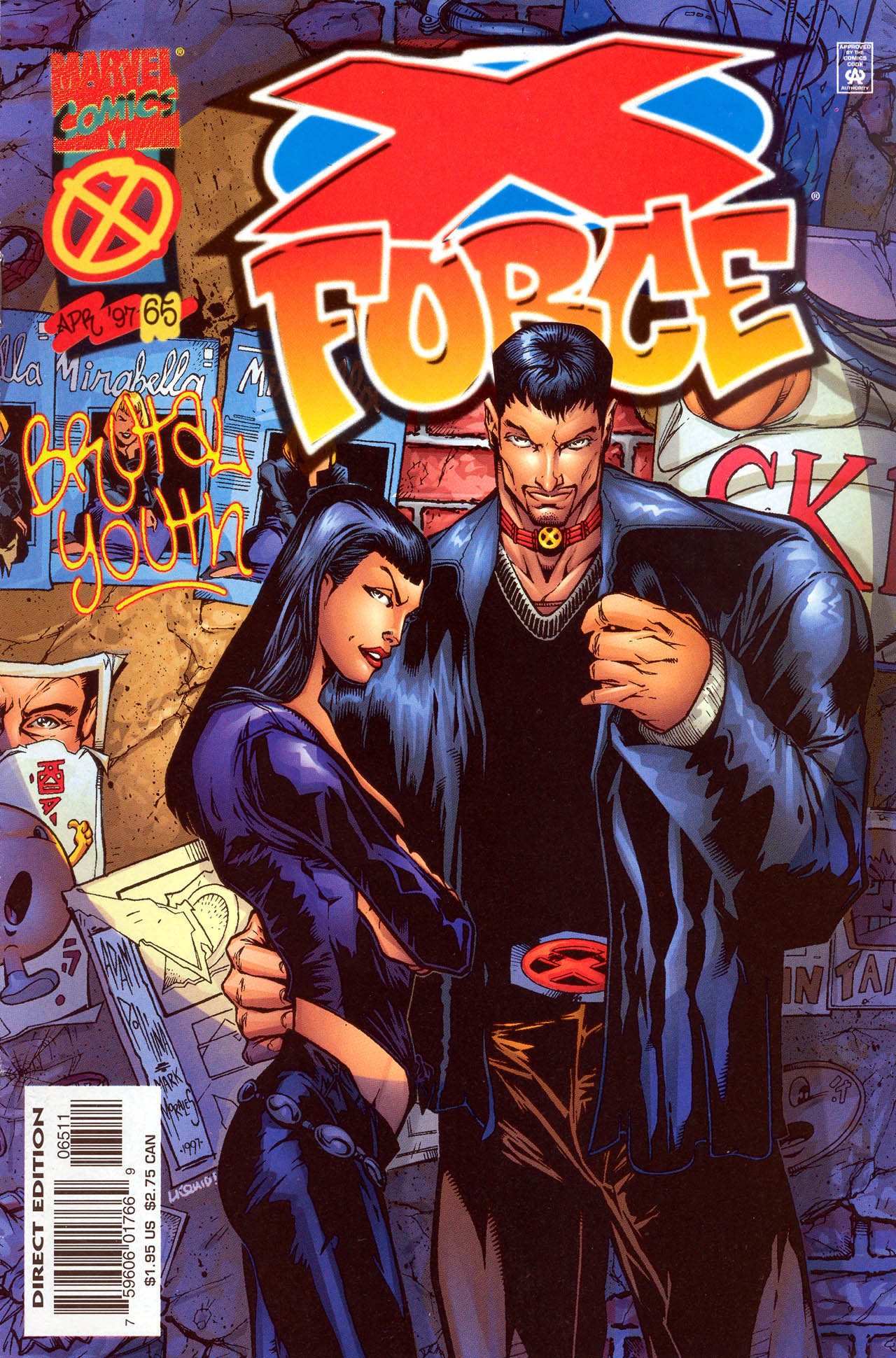 X-Force (1991) 65 Page 1