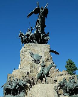 Monumento a San Martín, Parque General San Martín, Mendoza