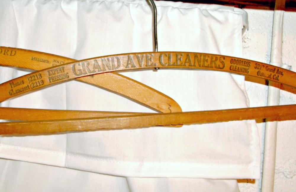Vintage advertising hanger