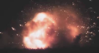 Під Вінницею вибухнув один із найбільших арсеналів боєприпасів