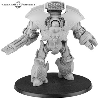 Legio Custodes Telemon Heavy Dreadnought.